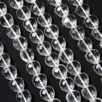 連 クリスタル(ブラジル水晶) ハートカット 10mm    品番: 5834