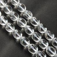 連 クリスタル(水晶) チューリップ 14*11mm    品番: 5850