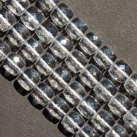 連 クリスタル(ブラジル水晶) キューブカット 10mm    品番: 5821