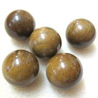 丸玉 タイガーアイ木化石 14mm    品番: 8919