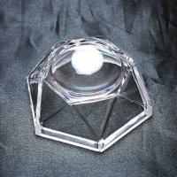 丸玉台 透明プラスチックタイプ 中 丸玉台座 品番: 11253
