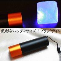 【必須アイテム!】電池式 ハンディサイズ ブラックライト  品番: 11309