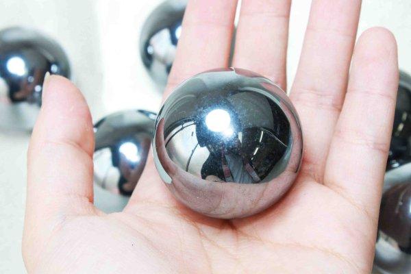 画像3: 高純度 テラヘルツ 丸玉 スフィア 約35mm マッサージなどに♪ 品番: 11668