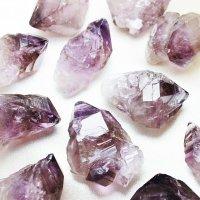 置物 オーナメント 原石 ブラジル産 アメジストエレスチャル 品番: 11924