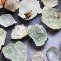 原石 置物 湖南省産 フローライト グリーン ミニサイズ 3個1パック 品番:10968