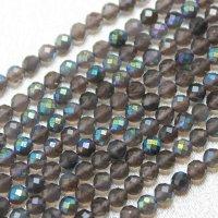 連 合成水晶 オーラ加工 カット 4mm 品番: 8676
