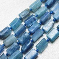 連 カイヤナイト ラフスクエア型 約10mm 品番: 9831
