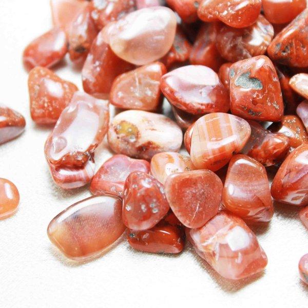 画像1: 【浄化フェア対象】 さざれ 南紅メノウ アゲート 中粒 1kgパック ストーンチップ 品番: 4631