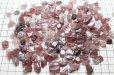画像3: 【浄化フェア対象】 さざれ アフリカンストロベリークォーツ 小から中粒 1kgパック ストーンチップ  品番: 9610 (3)