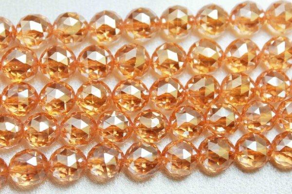 画像3: 連 ゴールデンオーラ ダイヤモンドカット 6mm 品番: 7916