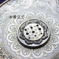 真鍮製 お香立て 蓮の花 真鍮製受け皿などに♪ 品番: 6901