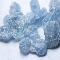 原石 マダガスカル産 セレスタイト ラフ原石 1kgパック 品番: 8206