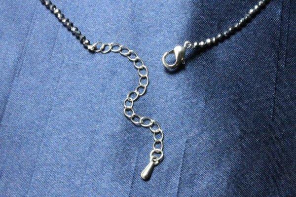 画像3: テラヘルツ リングネックレス テラヘルツチェーン付き ユニセックスデザイン  品番: 8260