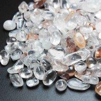 ヒマラヤ マニカラン産 水晶 さざれ 中小粒 1kg 品番: 11383