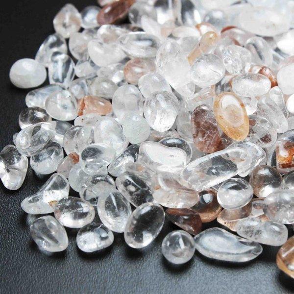 画像1: 【浄化フェア対象】 ヒマラヤ マニカラン産 水晶 さざれ 中小粒 品番: 11383