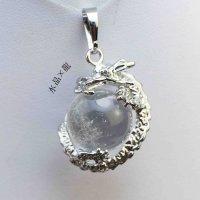 龍のペンダント 水晶  品番: 11650