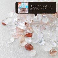 さざれ マニカラン水晶 ヒマラヤ  オリジナルパッケージ付 100gパック  品番: 11648