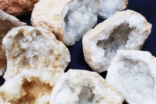 画像5: 置物 オーナメント インテリア 原石 モロッコ産 水晶ジオード 約5cm〜6cm(小) 品番:12227