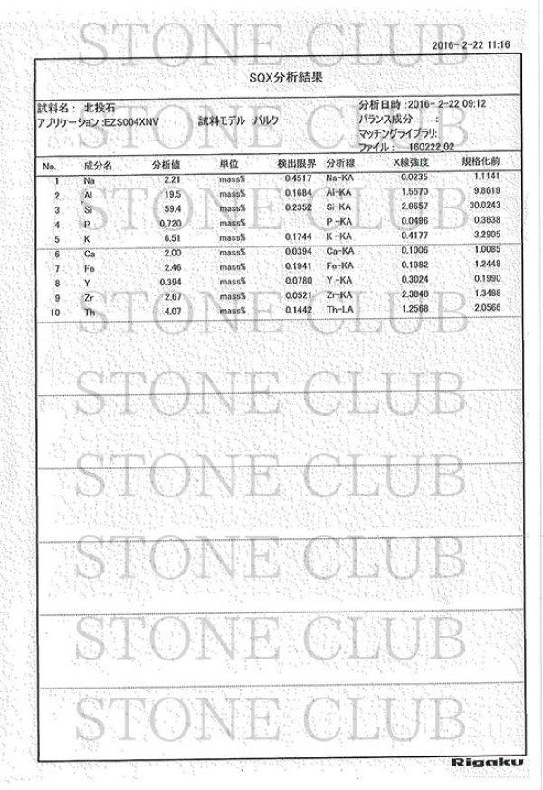 画像5: ブレス 北投石 hokutolite ブルー 丸 6mm 医者いらずの薬石 品番: 11296