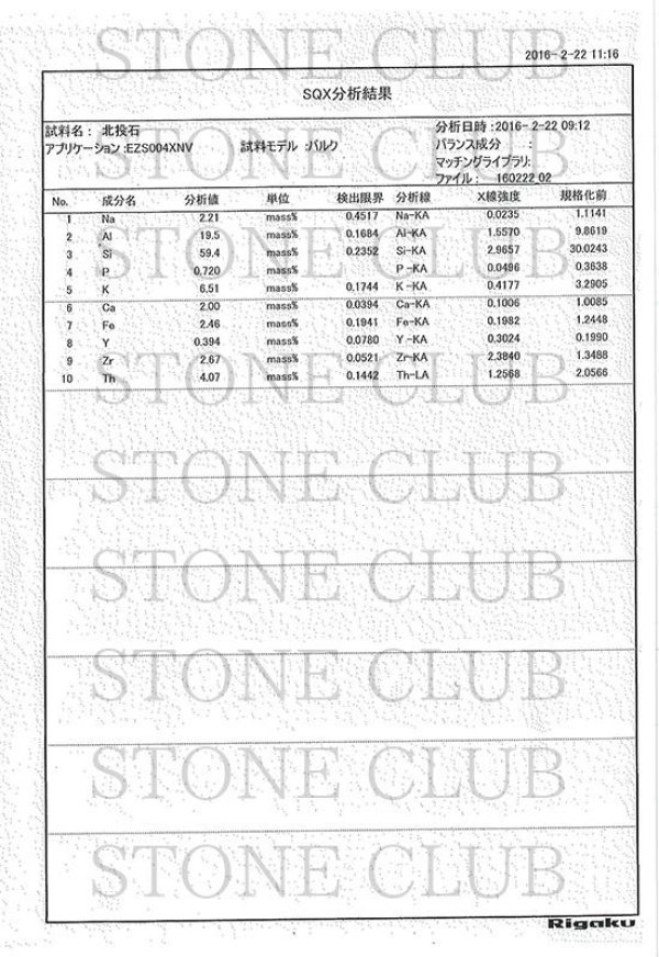 画像5: ブレス 北投石 hokutolite ブルー 青 スターカット 6mm 医者いらずの薬石 品番: 11324
