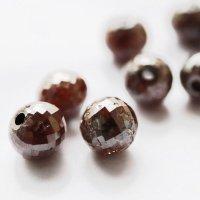 【一粒売り】バラ石 ブラウンダイヤモンド 2.9-3.4ct 約7.5mm前後 品番: 12335