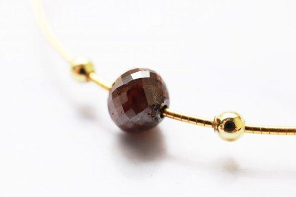 画像2: 【一粒売り】バラ石 ブラウンダイヤモンド 1.4ct 約6mm前後  品番: 12333