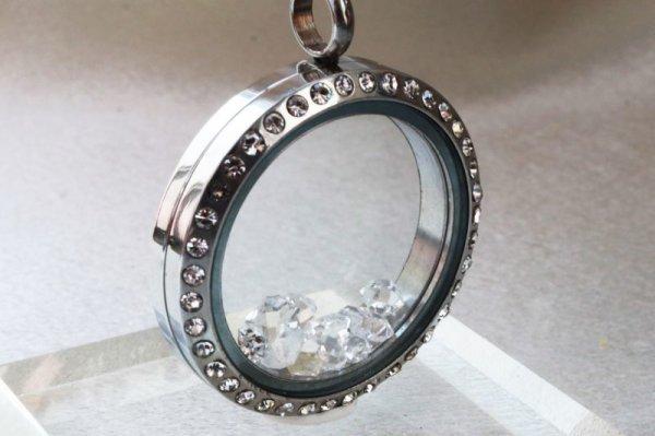 画像3: ペンダントトップ ハーキマーダイヤモンド 石有シルバー 夢見の石 さざれ 夢を現実化 出産のお守り 品番:12345