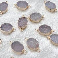 コネクトパーツ ドゥルージー 団円 二つ穴 GL ゴールド 1個 品番: 12401