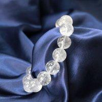 ブレス ガネーシュヒマール水晶 クォーツ AAランク 約14mm ガネーシュヒマール産 品番: 12430