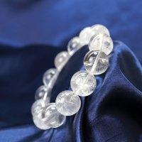 ブレス ガネーシュヒマール水晶 クォーツ AAランク 約16mm ガネーシュヒマール産 品番: 12431