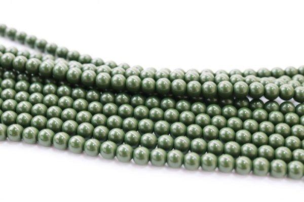 画像3: 連 北投石(緑)丸 4mm ラウンド 健康 美容 血行促進 薬石 マイナスイオン リラックス 品番: 12459