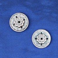 真鍮製 お香立て 蓮の花 赤 真鍮製受け皿などに♪ しんちゅう 合金 真鍮製 置物 彫り物 品番: 12492