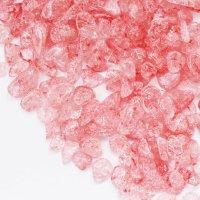 さざれ石 爆裂水晶 クラック水晶 赤 レッド カラー 100g パッケージ付き 浄化 開運 厄除け 品番: 12529