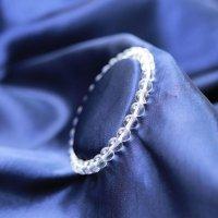 ブレス ガネーシュヒマール水晶 クォーツ TOPランク 約6mm ガネーシュヒマール産 ヒーリング 浄化 天然石 品番:12673
