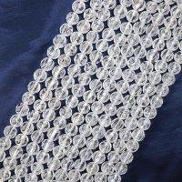 連 水晶 クォーツ 薔薇彫刻 バラ彫り 10mm 浄化 再生 毒素の排除 調和 品番: 12730