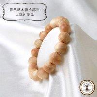 【パワーズウッド】ブレス 吉野桧 〈奈良県〉 12mm ストレス軽減 精神的な強さ 高貴 浄化 品番:12959