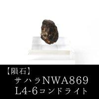 【隕石】サハラNWA869隕石 L4-6コンドライト サハラ砂漠産 2000年 品番:13055
