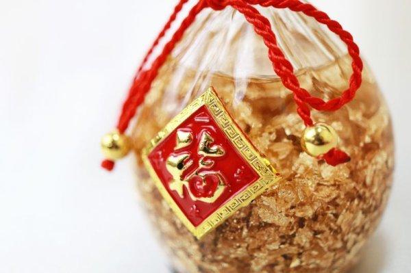 画像2: 置物 黄金の福袋 金箔 風水 開運 幸福 幸運 金運 運気上昇 幸運の福袋 彫り物 品番: 13235