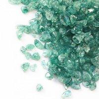 さざれ 爆裂水晶 クラック水晶 緑 グリーン カラー 約1kg 浄化 開運 厄除け 品番:13473