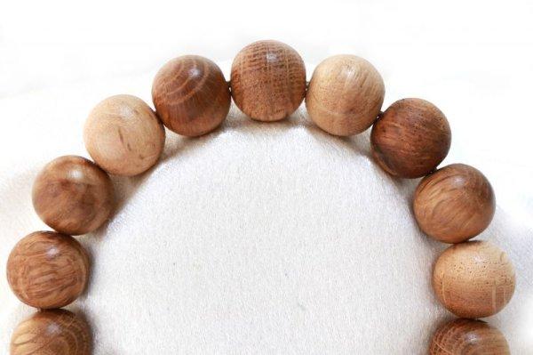 画像2: 【パワーズウッド】ブレス 栗瘤 〈日本〉 12mm くりこぶ 勇気をくれる 力強さ 人間的成長 円満 品番: 13520