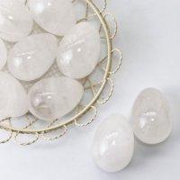 置物 玉子 水晶 クォーツ たまご 卵 浄化 エネルギー パワーストーン 品番:13536