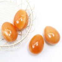 置物 玉子 アラゴナイト たまご 卵 集客力 存在感 安定 エネルギー お守り 品番:13537