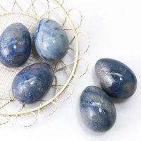 置物 玉子 ラピスラズリ たまご 卵 9月誕生石 邪気を払う 天然石 品番:13541