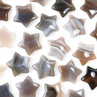 置物 スター 星 メノウ アゲート 癒し 守護 健康 彫り物 インテリア 天然石 品番:13596