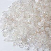 さざれ 爆裂水晶 クラック水晶 白 ホワイト カラー 約1kg 浄化 開運 厄除け 品番:13608