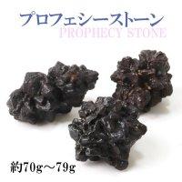 原石 プロフェシーストーン 約70gから79g 1個 サハラ砂漠産 オリジナルパッケージ付 予言石 レア 品番:13775