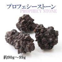 原石 プロフェシーストーン 約90gから99g 1個 サハラ砂漠産 オリジナルパッケージ付 予言石 レア 品番:13777