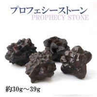 原石 プロフェシーストーン 約30gから39g 1個 サハラ砂漠産 オリジナルパッケージ付 予言石 レア 品番:13771