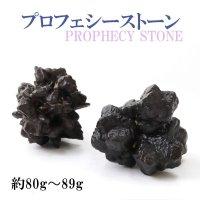 原石 プロフェシーストーン 約80gから89g 1個 サハラ砂漠産 オリジナルパッケージ付 予言石 レア 品番:13776