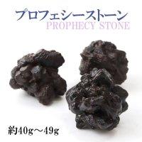 原石 プロフェシーストーン 約40gから49g 1個 サハラ砂漠産 オリジナルパッケージ付 予言石 レア 品番:13772